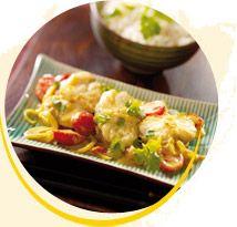 Curry di coda di rospo al Latte di noce di cocco - I piatti principali - Suzi Wan®