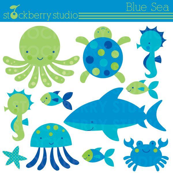 Sea Animals Clipart Buscar Con Google X L 225 Minas Kids Animals1 Pinterest Search Animals