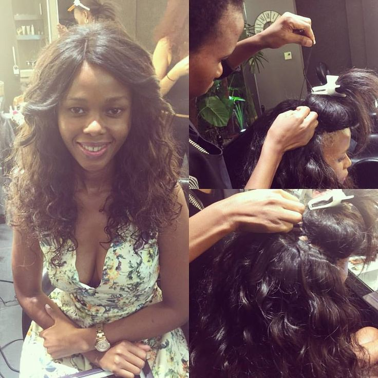 Stunning makeover with a Weave application by Ndale and styling by Carmel at Midori!!