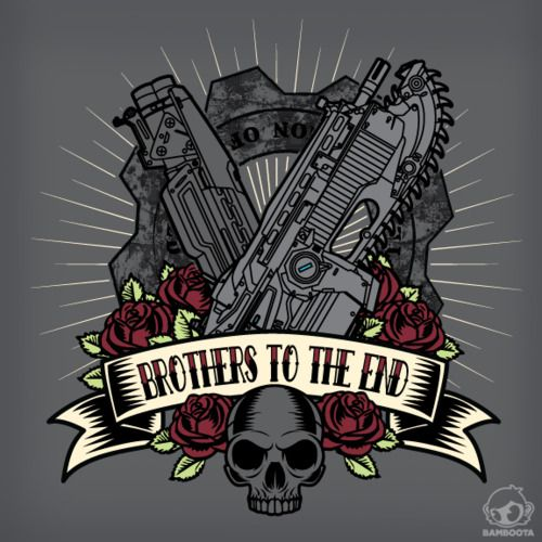 This would be an awesome tattoo! #gearsofwar