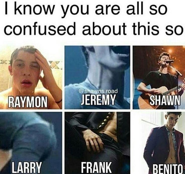Lol so many per'Shawn'alities
