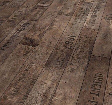 Wine crate floors- god love wine country, california!