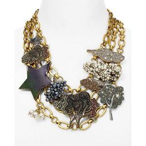 Marc Jacobs Statement Charm Necklace, 16
