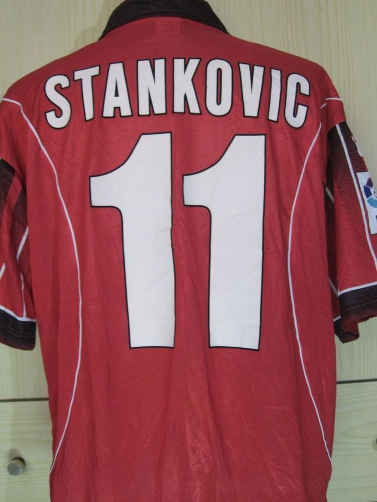 JOVAN STANKOVIC YUGOSLAVIA VINTAGE 1998 MALLORCA SPAIN FOOTBALL PLAYER SHIRT M  | eBay