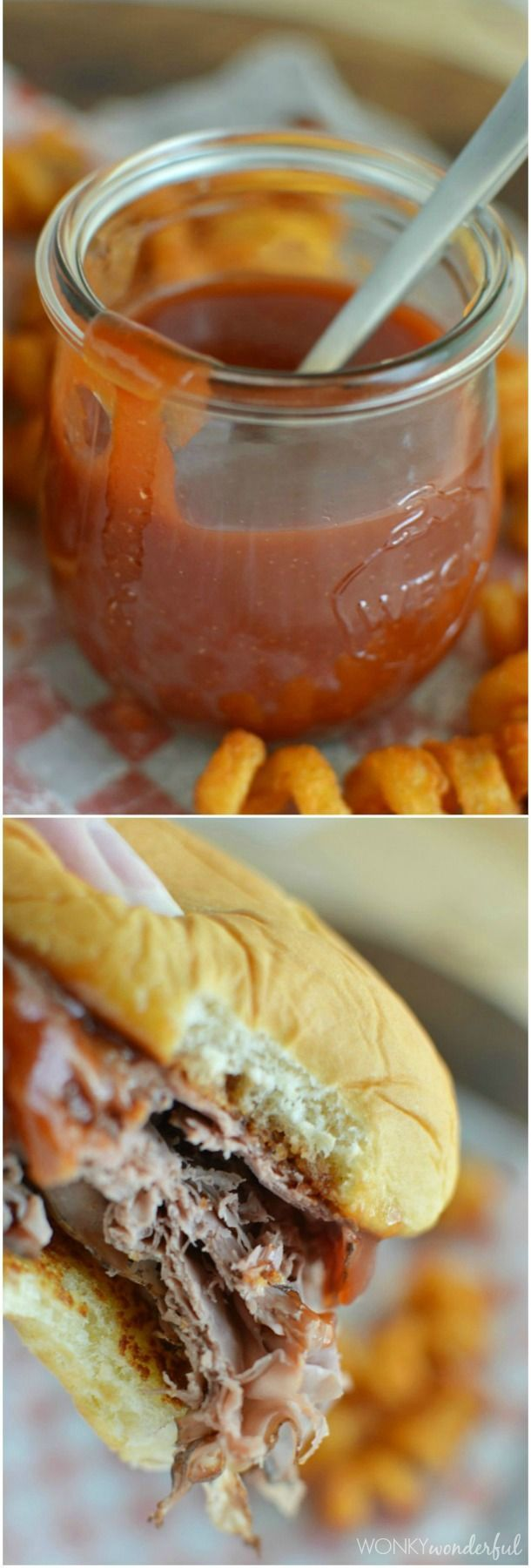 Arby's Sauce Recipe : Roast Beef Sandwich Copycat Recipe : barbecue sauce : bbq : barbeque #sauce wonkywonderful.com