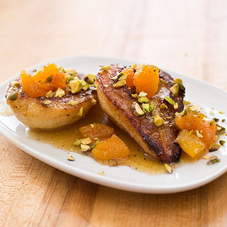 A two-stage cooking process yields tender, beautifully caramelized fruits.