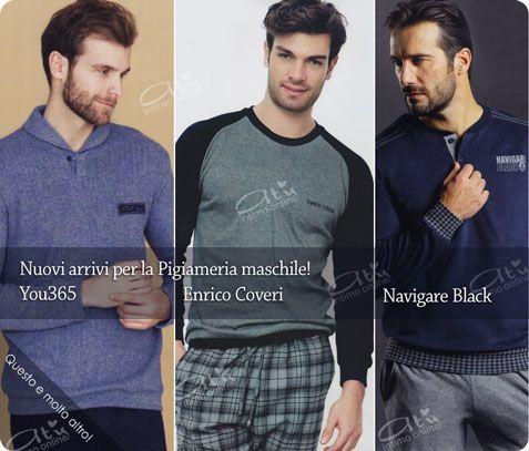 Pigiami Uomo Invernali con Navigare black, Enrico Coveri e You 365 Linclalor. #pigiami #uomo #inverno http://www.atyintimoonline.it/213-pigiami-uomo-invernali