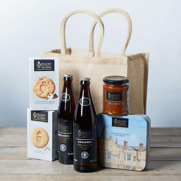 Duchy Originals Cider Gift Bag   From Waitrose   Price £35