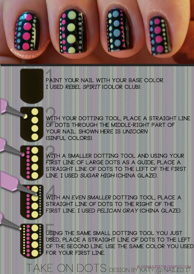 cute dotting tutorial