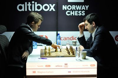 Casa do Xadrez de Alpiarça: Norway Chess 2016: Magnus Carlsen x Vladimir Kramnik