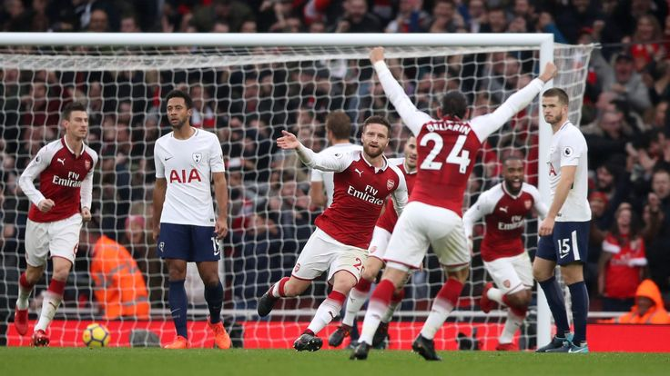 Two controversial goals secure win for Arsenal over rivals Tottenham #News #AlexisSanchez #Arsenal #ArsenalvsTottenhamHotspur #composite