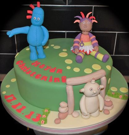In The Night Garden Christening Cake