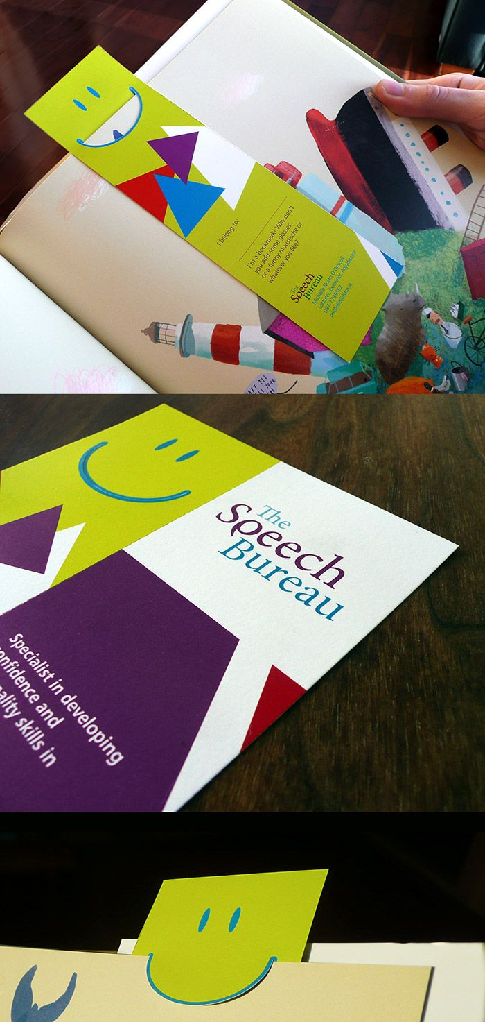 The Speech Bureau - Corporate Identity & Bookmark