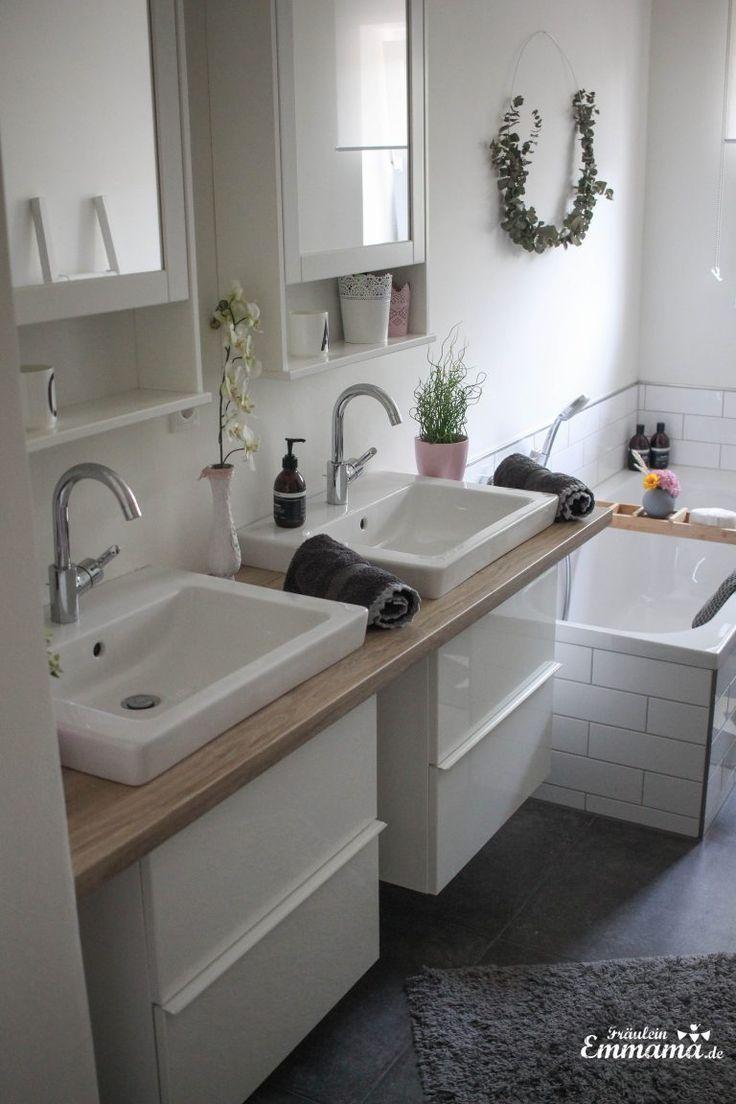 Makeover Badezimmer in grau und weiß – Fräulein … – #Badezimmer #Fräulein #grau #Makeover #negocios