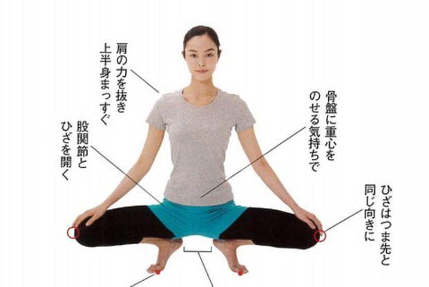 お相撲さんが土俵でよくとるポーズ「蹲踞(そんきょ)」。気を下ろすので精神面で良いだけでなく、実はダイエットにもとても効果的なんです。