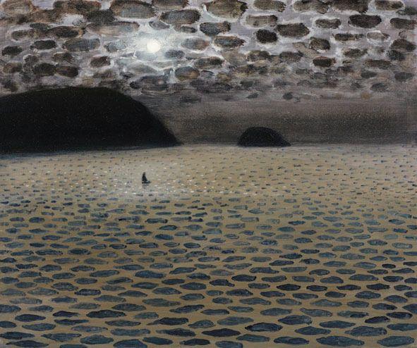 """Sailboat at Midnight"" by Richard Cartwright"