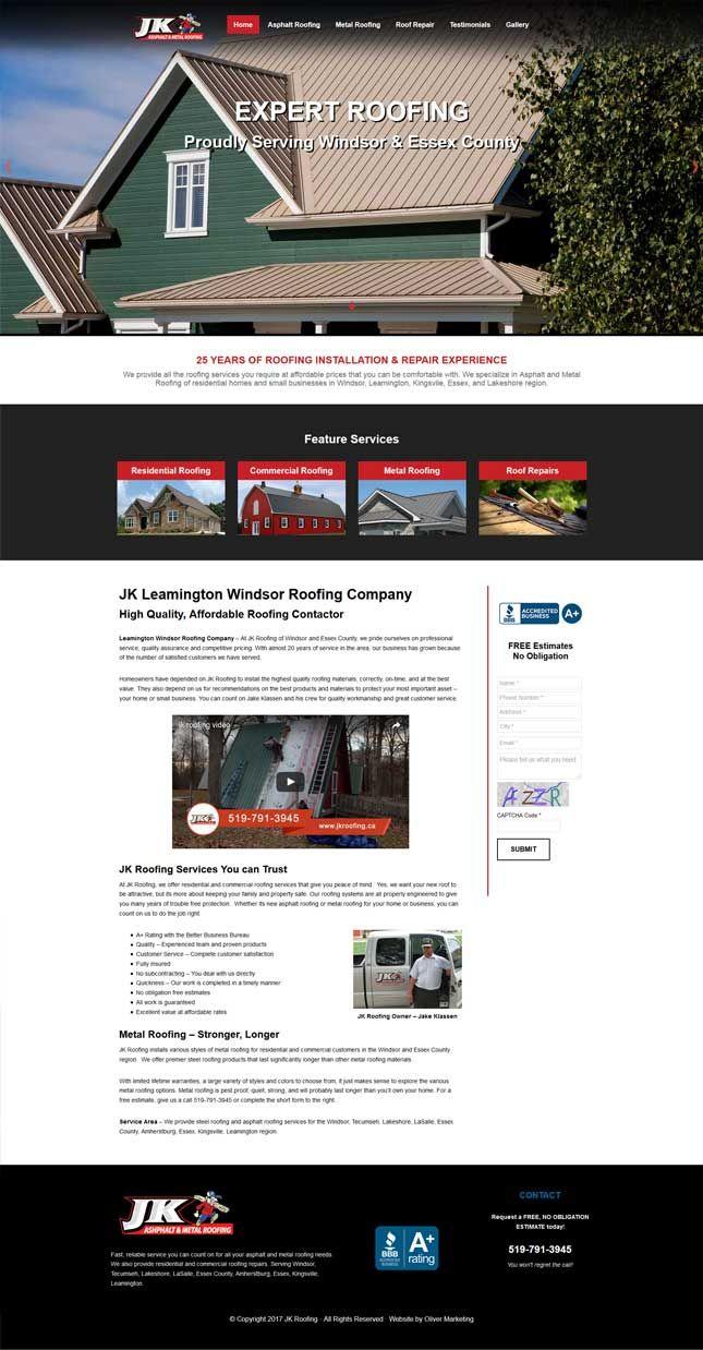JK Rooking - WIndsor Roofing Contractor