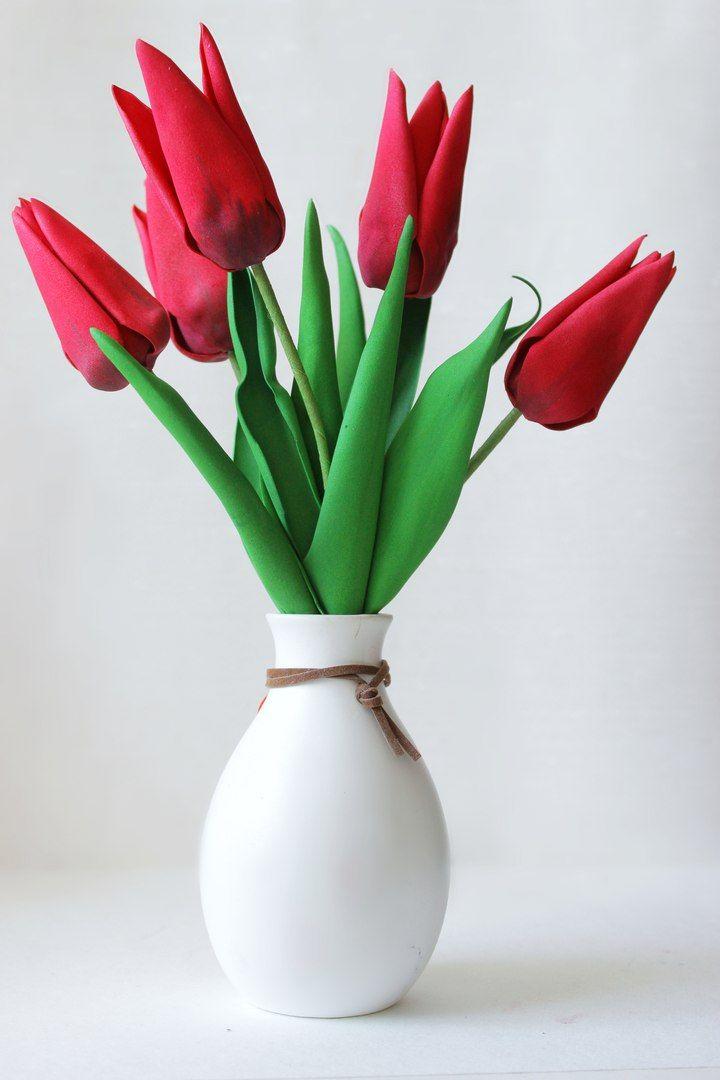 Цветы и аксессуары из фоамирана