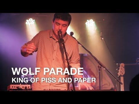Wolf Parade   King Of Piss And Paper   First Play Live - YouTube