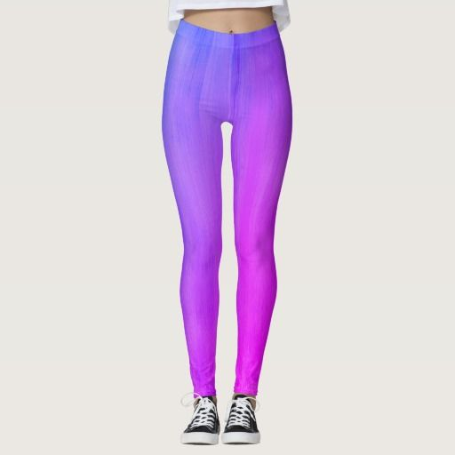 Designers luxury purple Art leggings