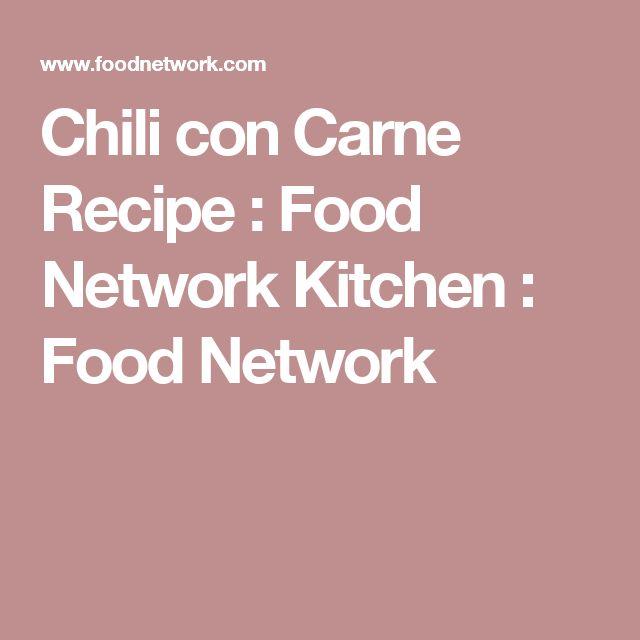 Chili con Carne Recipe : Food Network Kitchen : Food Network