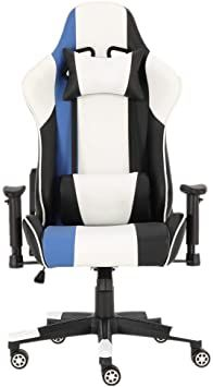 Cveue Ho Video Game Chairs Office Gaming Chair Racing Recliner Bucket Computer Seat Armrest Game Chair Color Office Gaming Chair Sport Chair Ergonomic Office