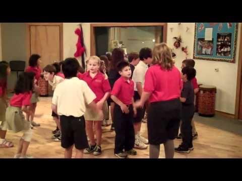 3rd Grade Music-Singing Game Tideo (Fairmont Anaheim Hills Campus)