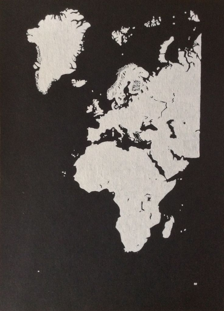 Europe and Africa - White gel pen drawing on black paper #europe #africa #map #iceland #blackandwhite #drawing #whitegelpen #blackpaperdrawing #minimal #minimalism