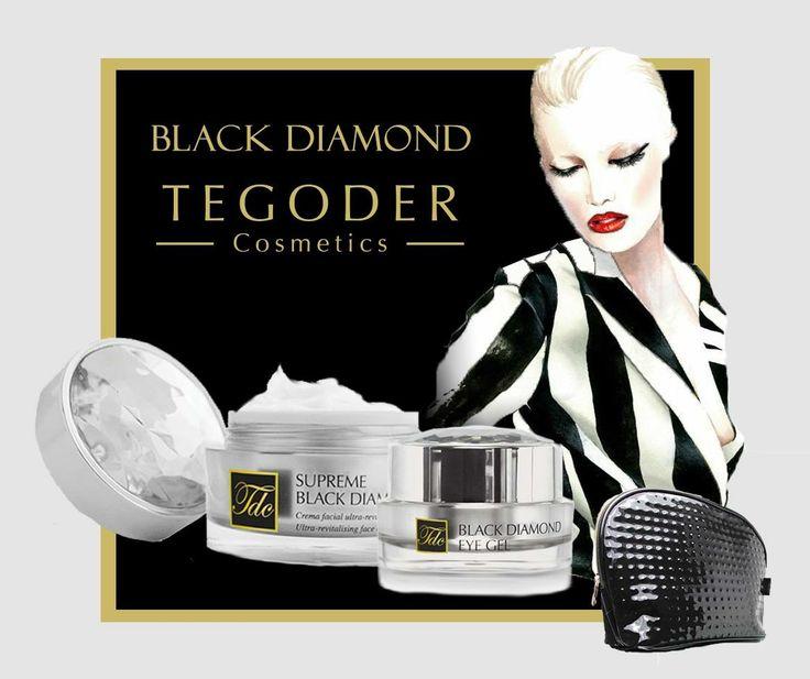 Tegoder Cosmetics - Black Diamond design, gift set ||| by: Fruzsina Csaba