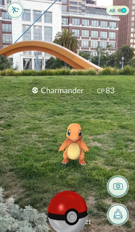 Pokemon Go APP. Android. iOS. AR Game.