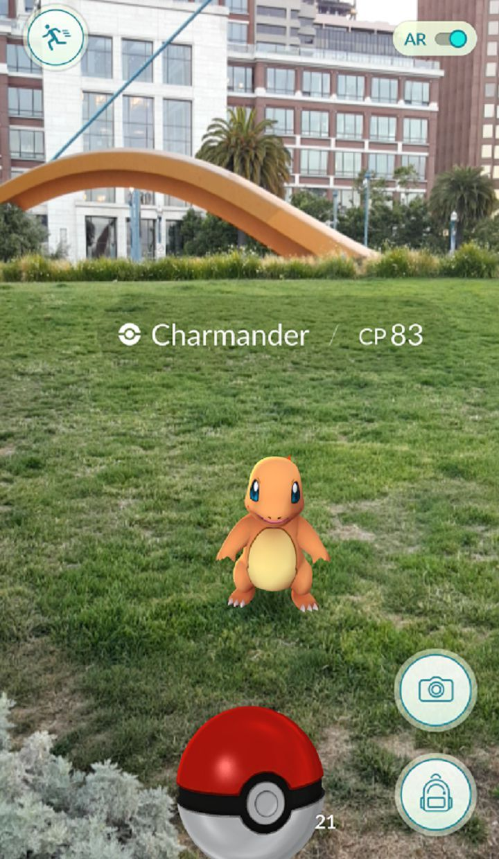 Pokemon Go APP. Android. iOS. AR Game.