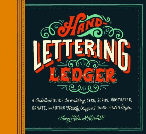 Hand-Lettering Ledger:Amazon:Books | Products I Love | Pinterest