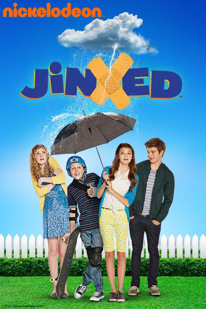 Jinxed Movie Poster - Ciara Bravo, Jack Griffo, Jacob Bertrand  #Jinxed, #MoviePoster, #KidsFamily, #StephenHerek, #CiaraBravo, #JackGriffo, #JacobBertrand