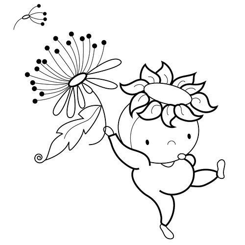 Blossom Babes Illustration b by Marisa Straccia, via Flickr