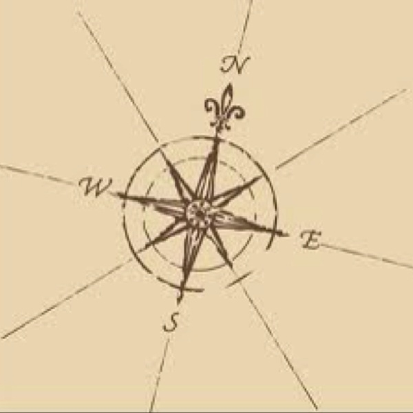 Hmmm possible tattoo...I love the classic look of this compass, with a nautical feel to it.  It would speak to my oceanic obsession. I live for the ocean.  I really love this, without the extra lines coming off the sides.