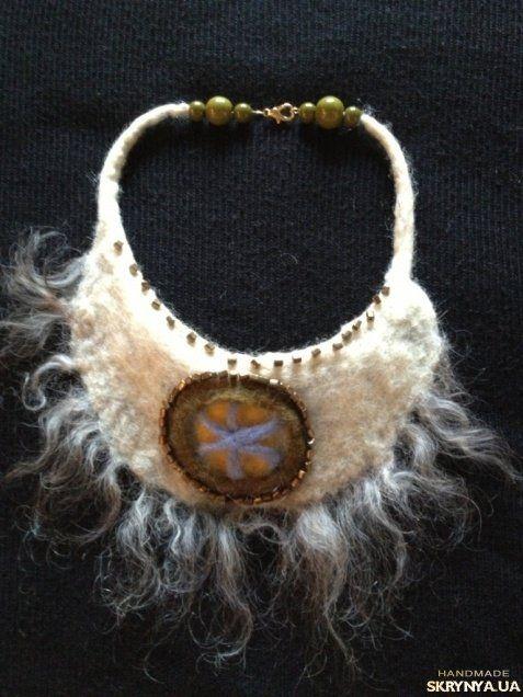 валяные ожерелье  из шерсти: 12 тыс изображений найдено в Яндекс.Картинках