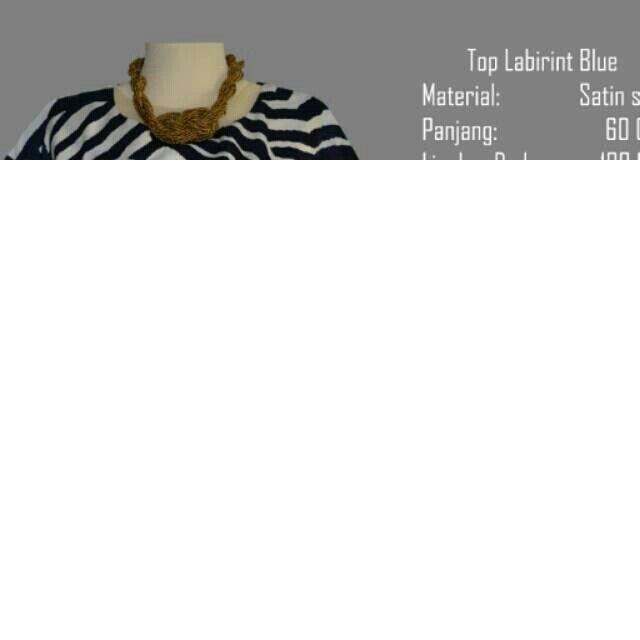 Saya menjual Top Labirin Blue -Best Seller seharga Rp119.000. Dapatkan produk ini hanya di Shopee! http://shopee.co.id/yaskey_house/2501007 #ShopeeID