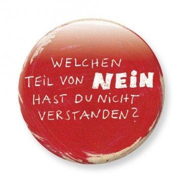 Button – Nein