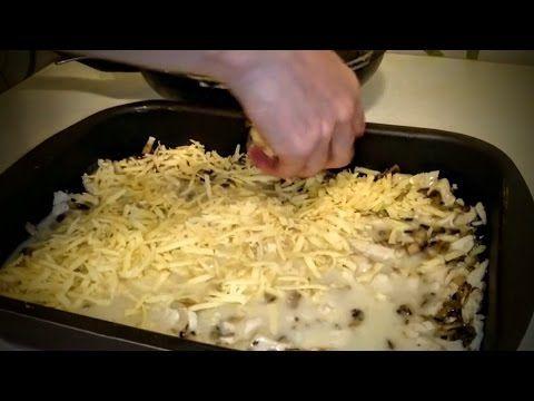 Жульен Рецепт блюда из курицы Вкусные рецепты с грибами в духовке как приготовить ужин быстро видео - YouTube