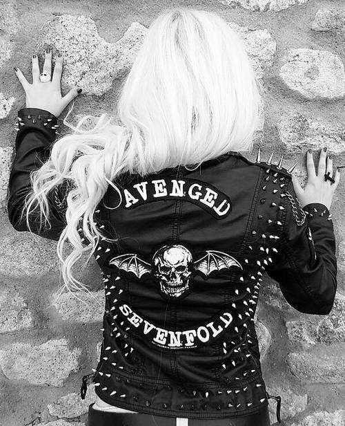 649 best a7x images on pinterest zacky vengeance avenged avenged sevenfold leather jacket voltagebd Images