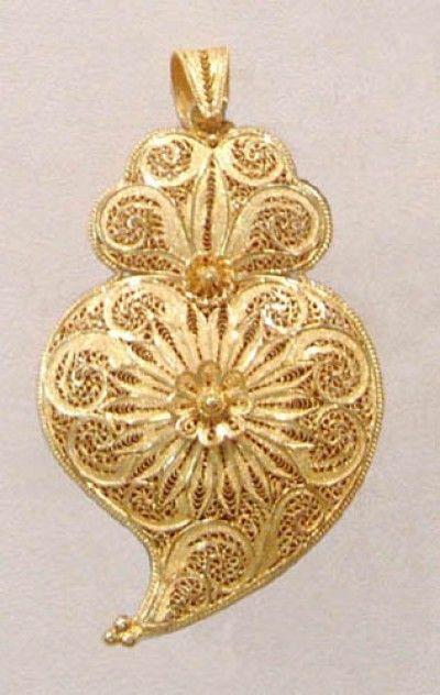 Cora 231 227 O Filigrana Em Ouro Portugal Filigrana Em Ouro