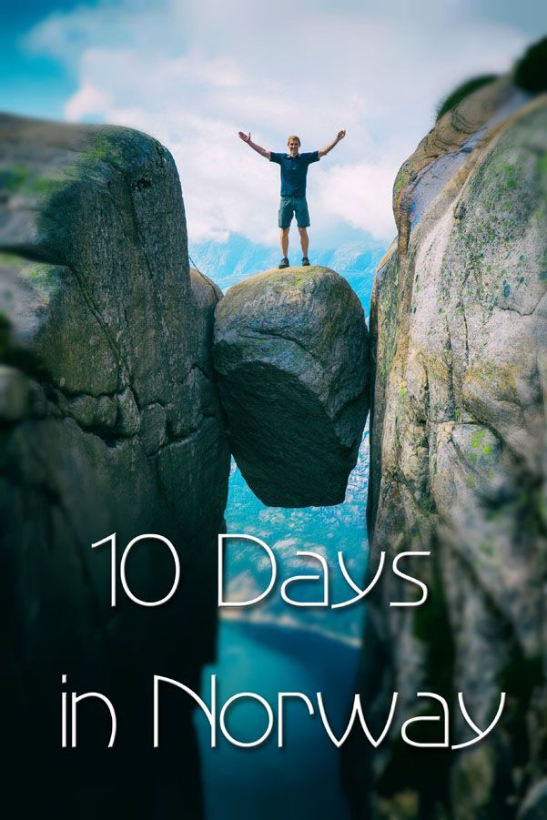 10 Days in Norway Itinerary. Hike the best places: Trolltunga, Kjeragbolten, and…