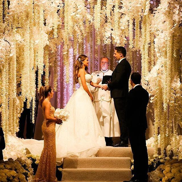 See Sofia Vergara and Joe Manganiello's Stunning Wedding Pictures!  12/05/15