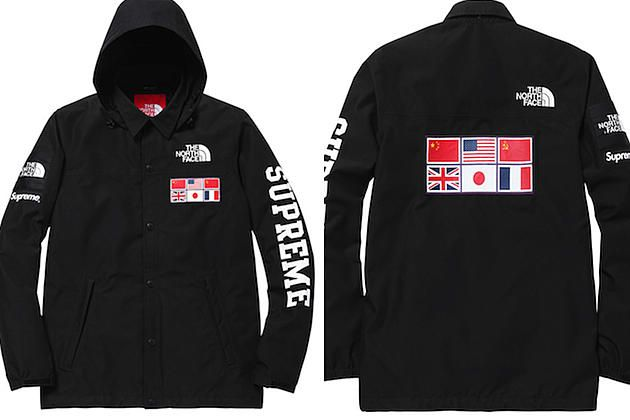 The North Face X Supreme Expedition Coaches Jacket And Backpack Jackets Supreme Sweater North Face Bubble Jacket