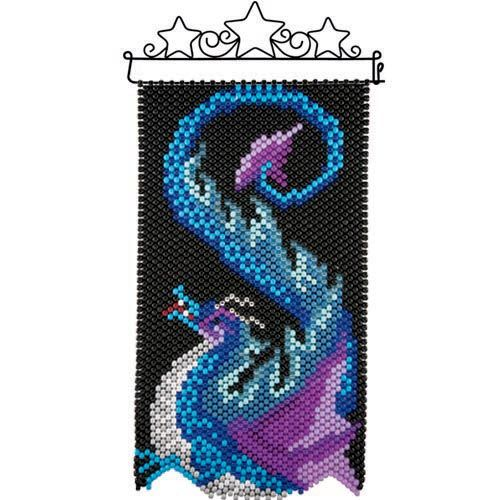 Herrschners® Herrschners® Water Dragon Beaded Banner Kit Beaded Banner Kit