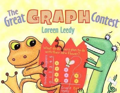 Gonk and Beezy, two amphibian friends, hold a contest to see who can make better graphs. Includes information about different kinds of graphs.