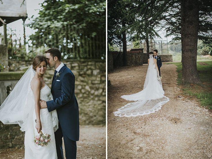 Congrats to Sandra & Diego!  Photo by Tecueme studio photography. #PronoviasRealBrides