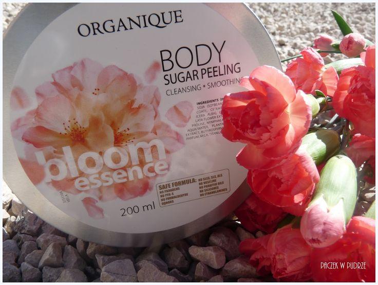 wpudrze.pl: Organique Cukrowy peeling do ciała Bloom Essence