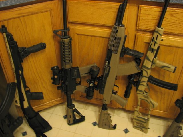 Smith And Wesson Ar 15 With Hogue Furniture , Noinco Sks In A Tapco Stock ,  Marlin 22 All Dressed Up | Guns | Pinterest | Guns