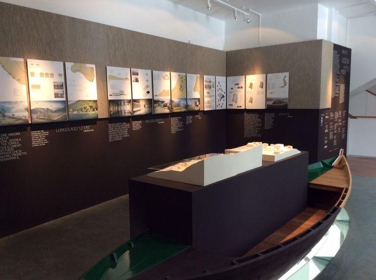 Pareti in #TelaMetallica a #Montisola . Un #museo in cui il #design e l' #architettura fanno da protagontisti
